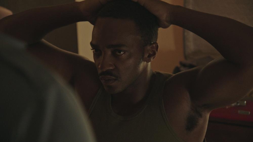 Detroit: Anthony Mackie in una scena del film