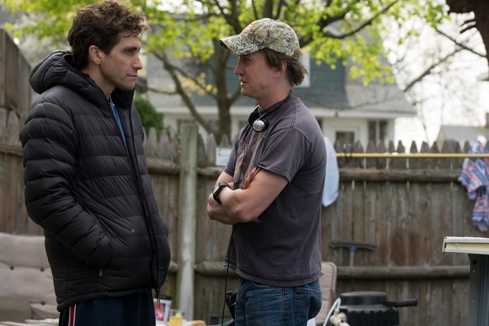 Stronger: Jake Gyllenhaal e David Gordon Green sul set del film