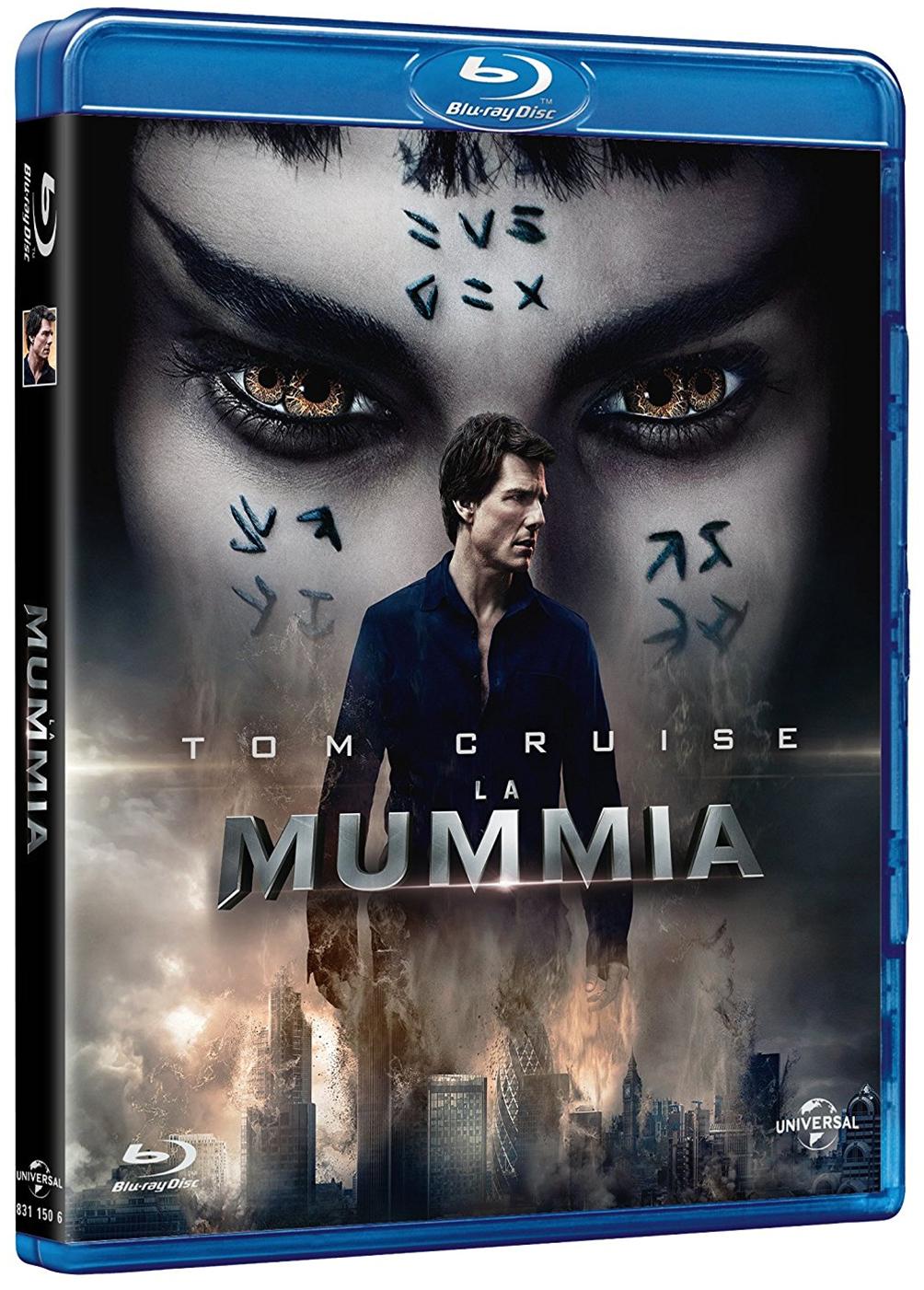 La cover del blu-ray de La mummia