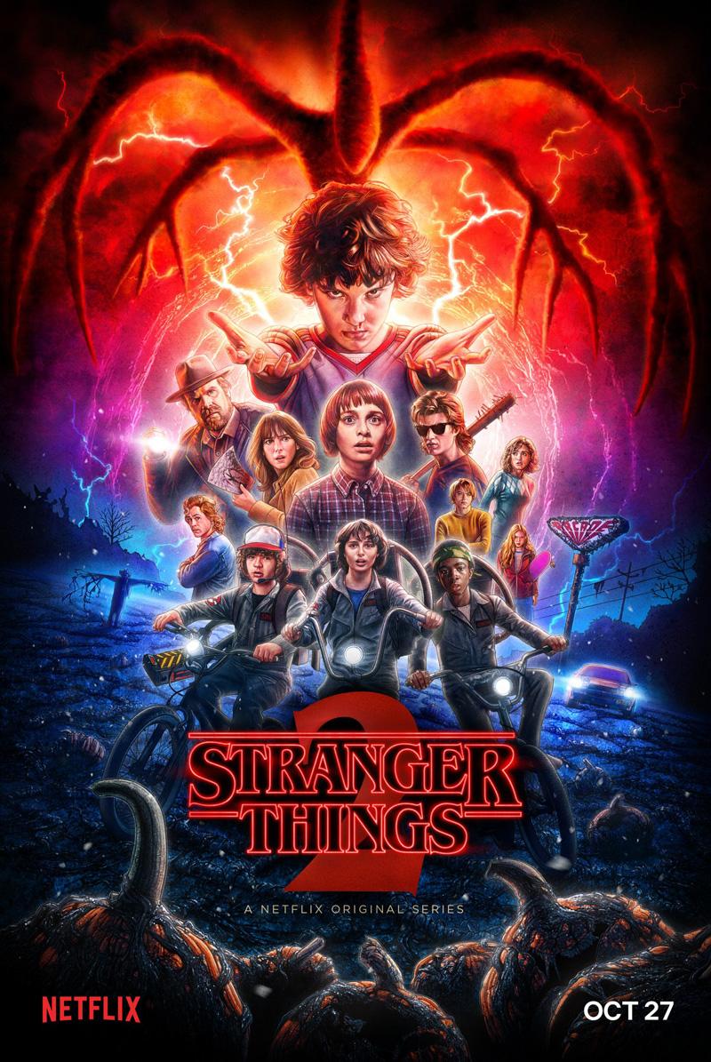 Stranger Things: il poster ufficiale della stagione 2
