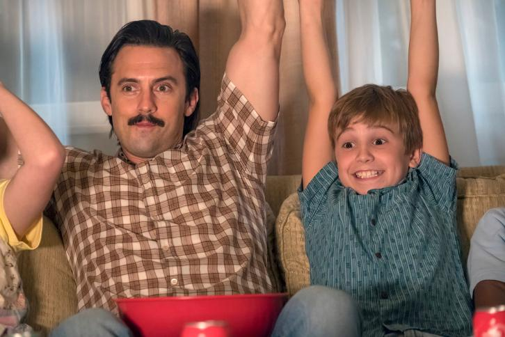 This Is Us: Milo Ventimiglia e Parker Bates nell'episodio Déjà Vu
