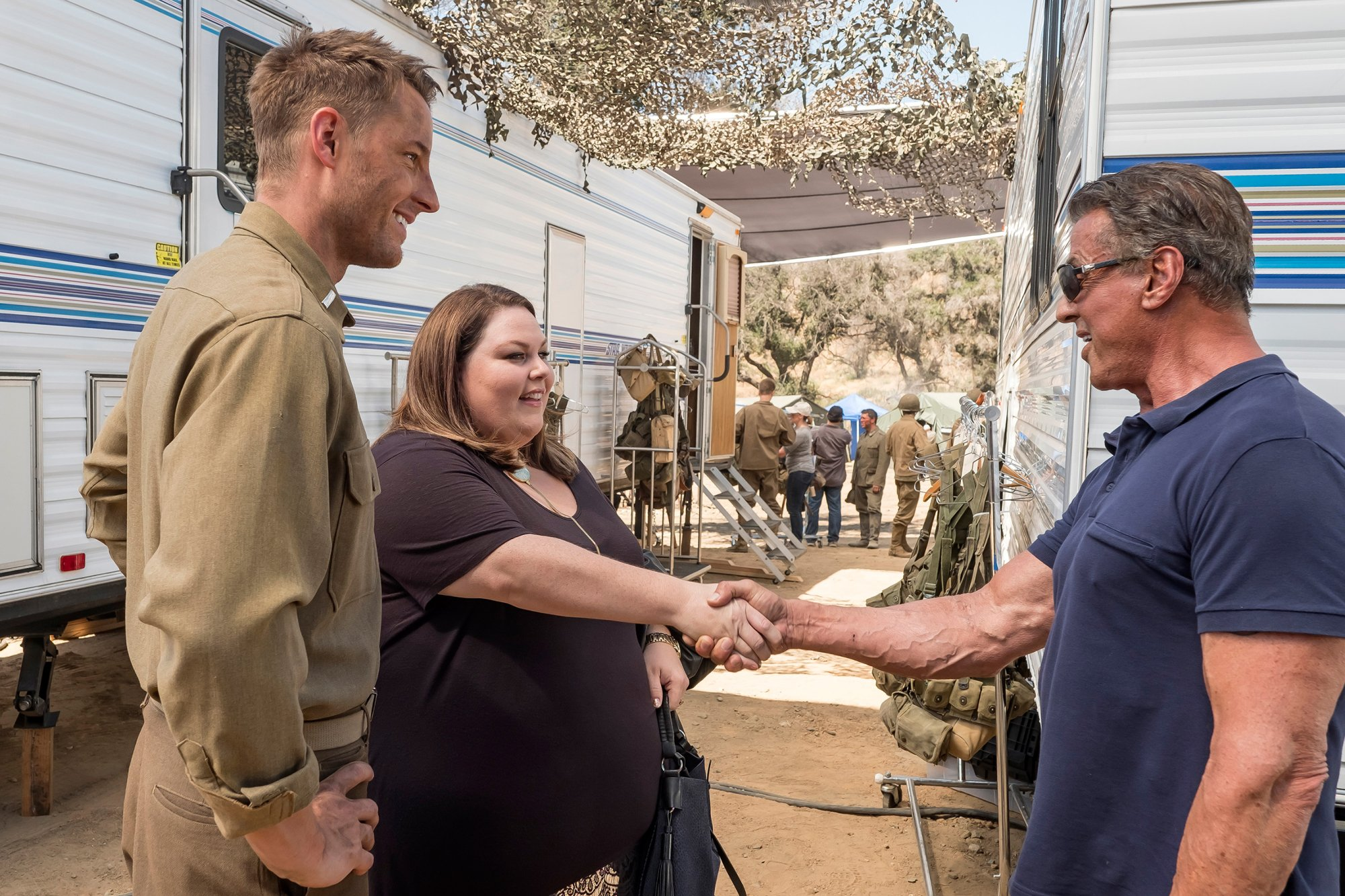 This Is Us: Sylvester Stallone, Chrissy Metz e Justin Hartley nell'episodio Déjà Vu