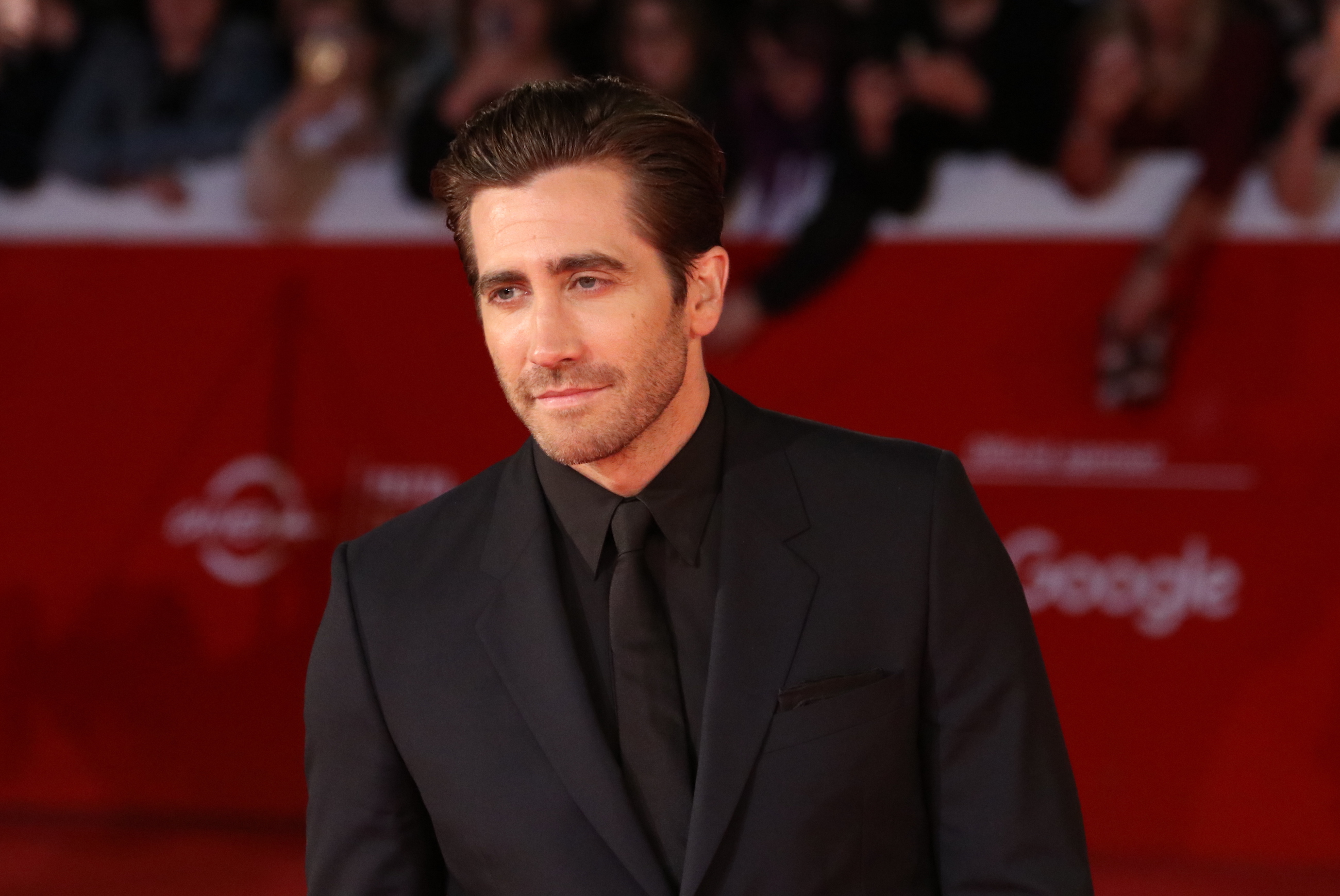 Roma 2017: Jake Gyllenhaal sul red carpet di Stronger