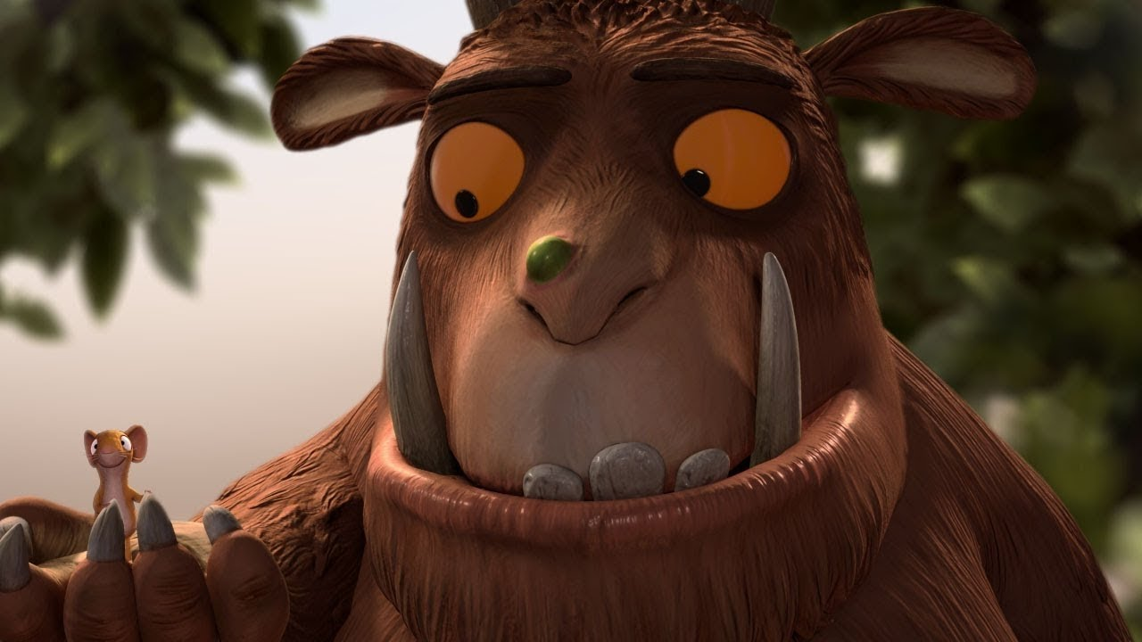 Il Gruffalo: una scena del film animato