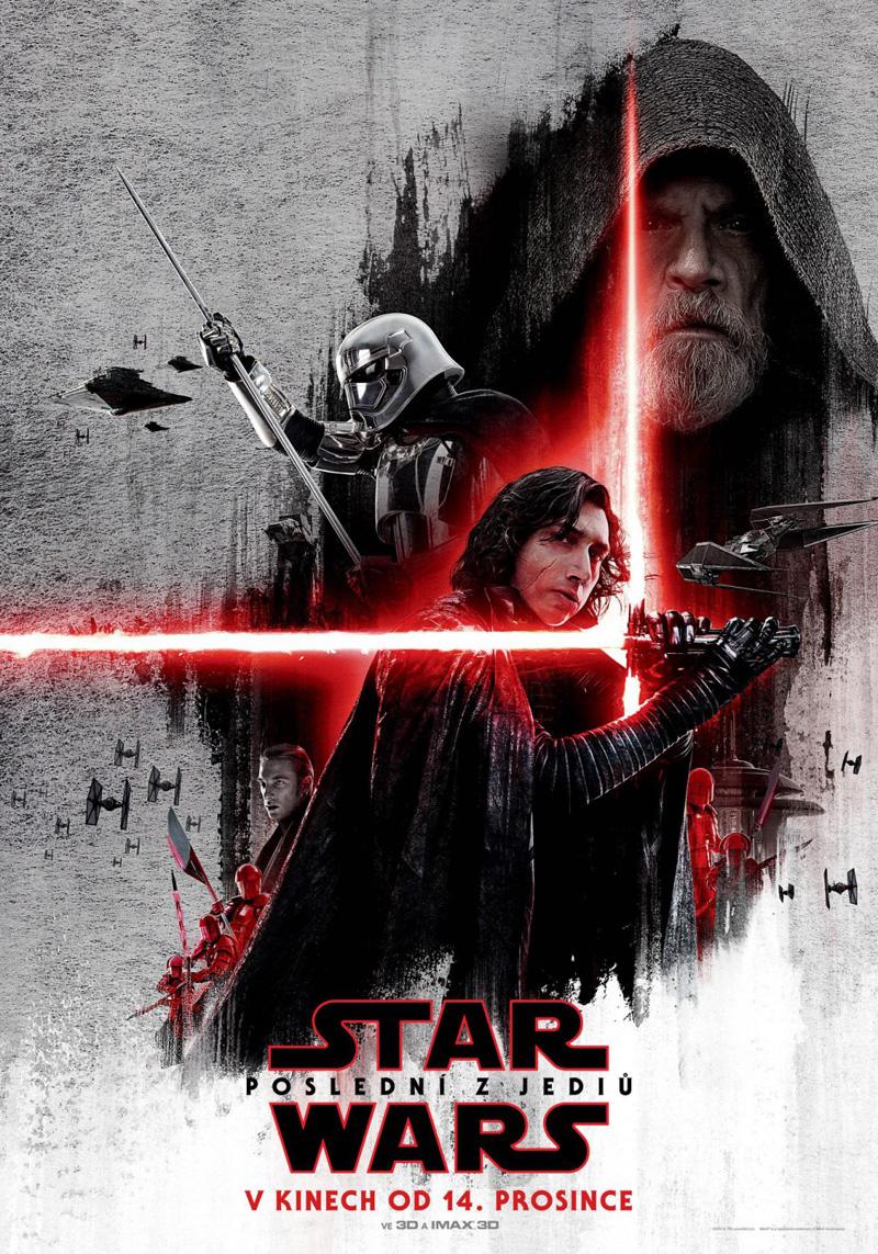 Star Wars: Gli ultimi Jedi, un poster internazionale del film
