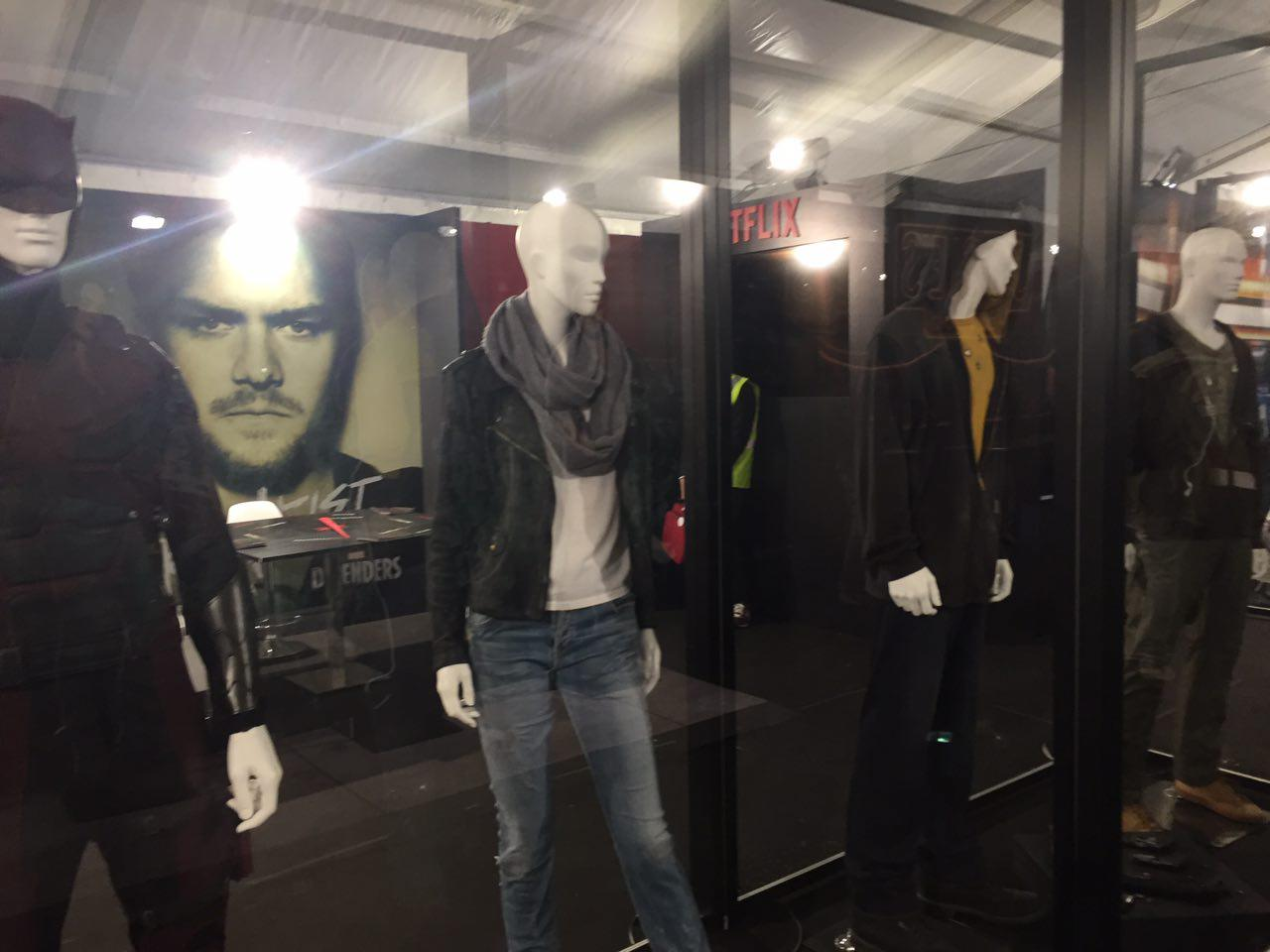 Lucca 2017: costumi di scena di The Defenders allo stand Netflix
