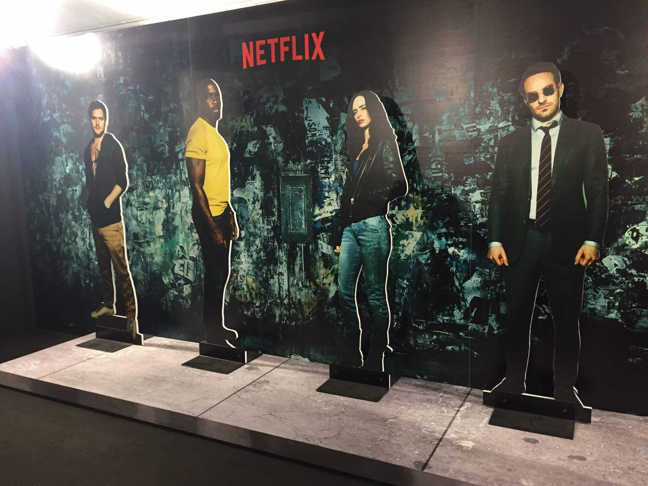Lucca 2017: The Defenders allo stand Netflix