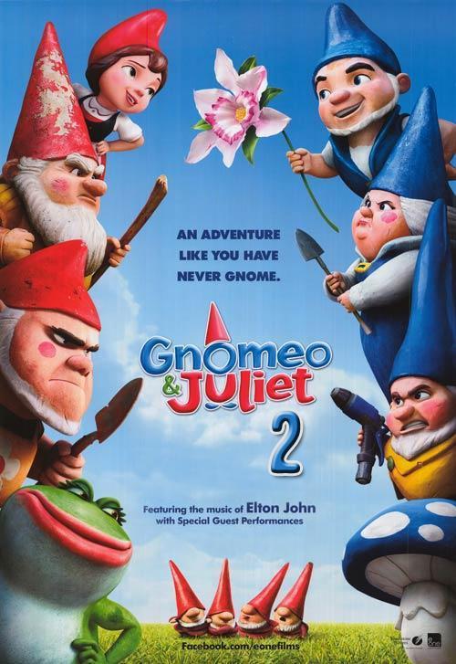 Locandina di Gnomeo & Juliet: Sherlock Gnomes