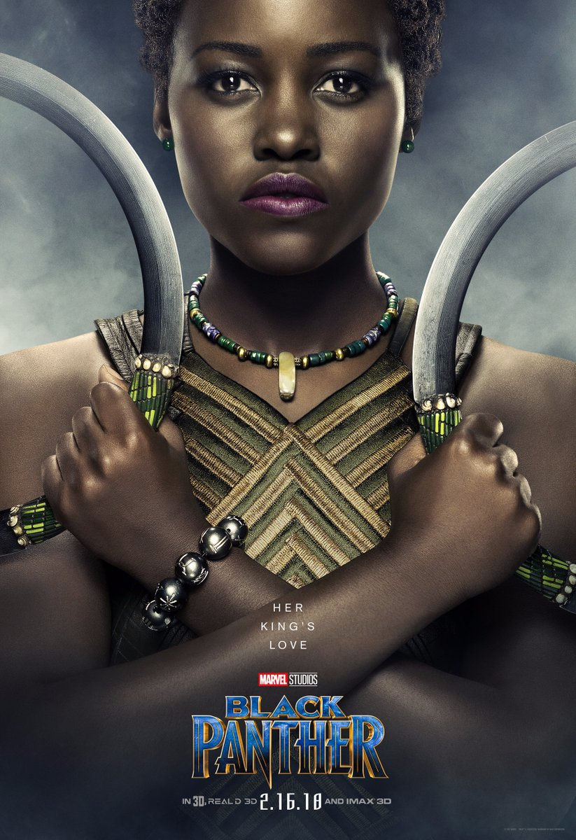 Black Panther: Lupita Nyong'O in un character poster