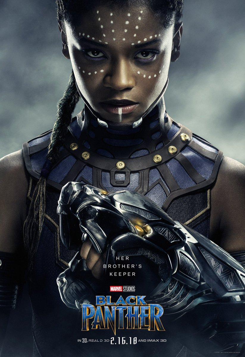 Black Panther: un character poster del film Marvel