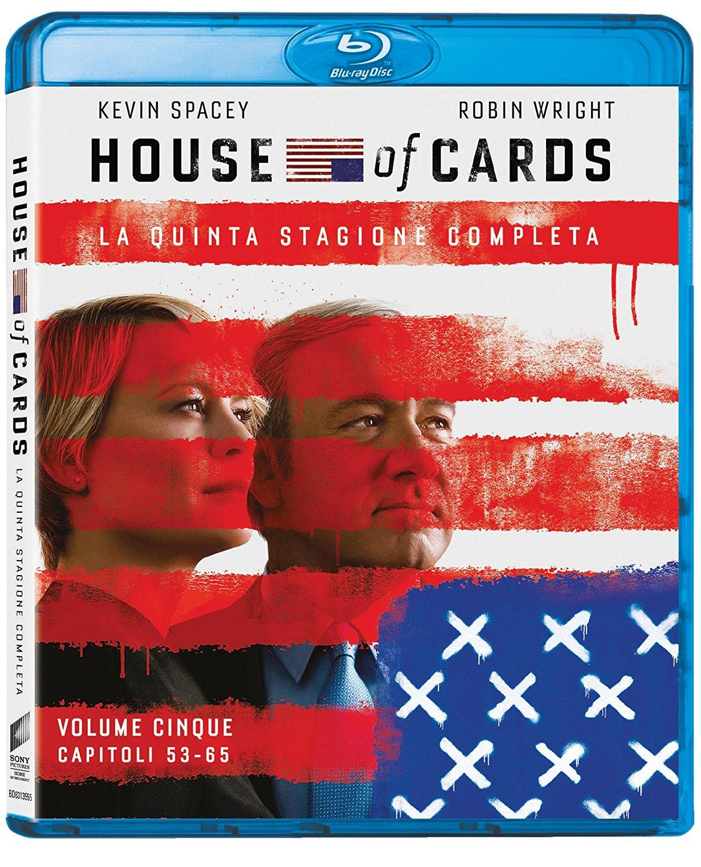 Il blu-ray della stagione 5 di House of Cards
