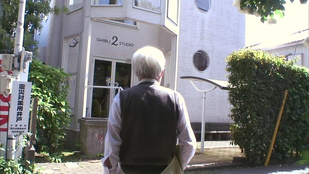 Never Ending Man: Hayao Miyazaki, Miyazaki in un momento del documentario a lui dedicato