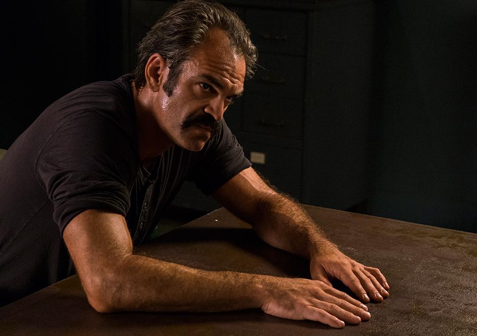 The Walking Dead: Steven Ogg in una foto di The Big Scary U