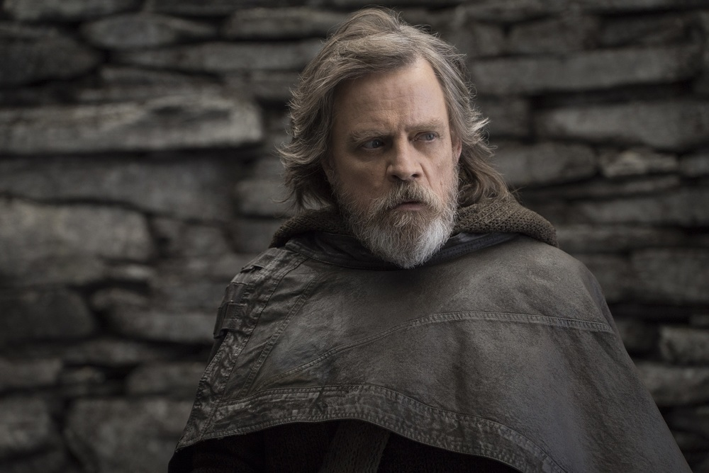 Star Wars: Gli Ultimi Jedi, Mark Hamill in una scena del film