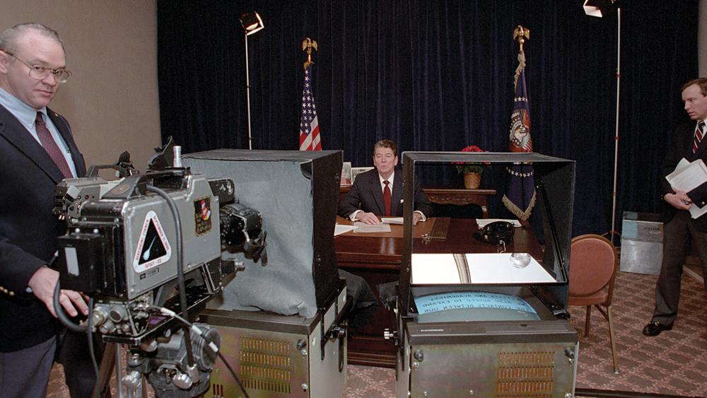 The Reagan Show: un'immagine tratta dal documentario