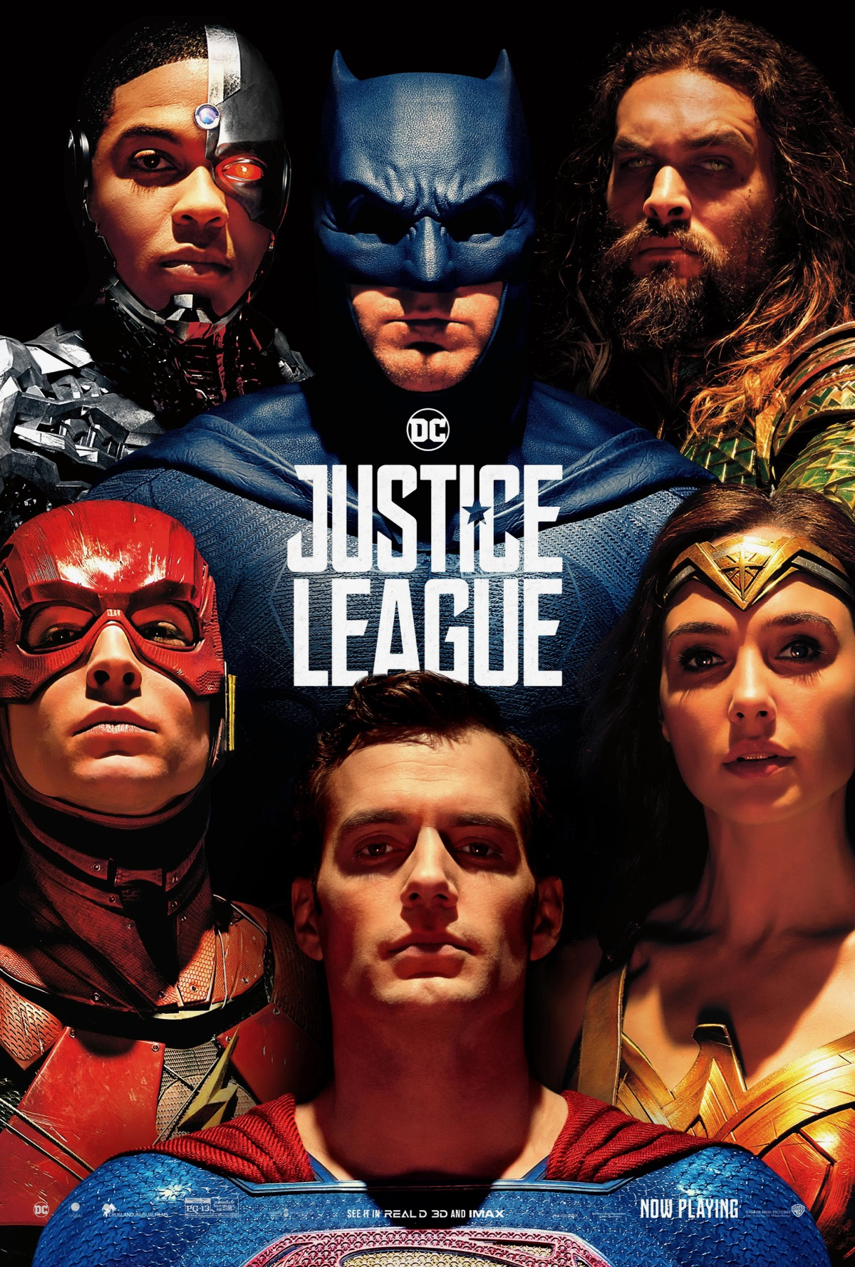 Justice League: Superman in un poster del film