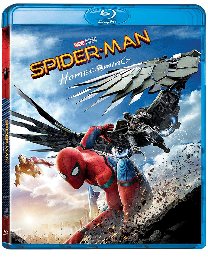 Il blu-ray di Spider-Man: Homecoming