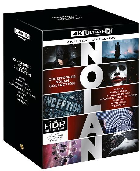 Il cofanetto della Christopher Nolan Collection