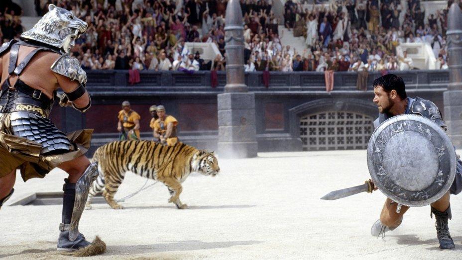 Il gladiatore: un'immagine del film