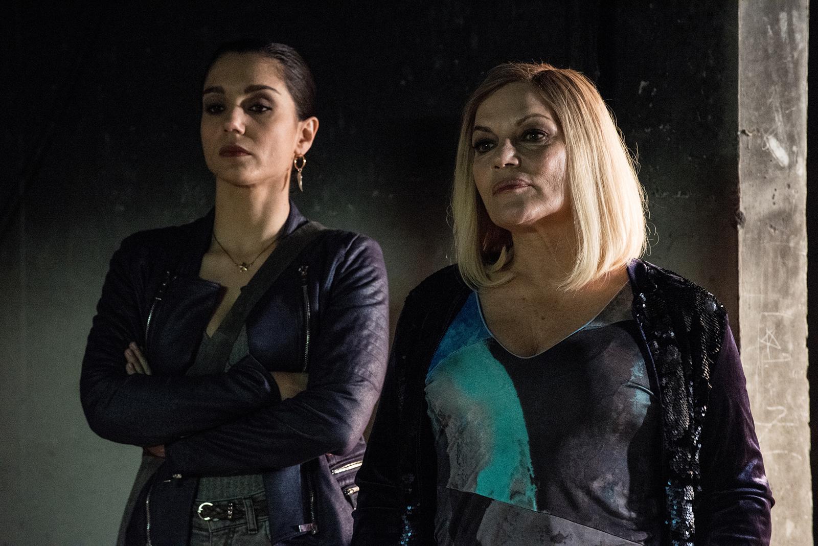 Gomorra 3 - Cristina Donadio e Cristiana Dell'Anna (sesto episodio)