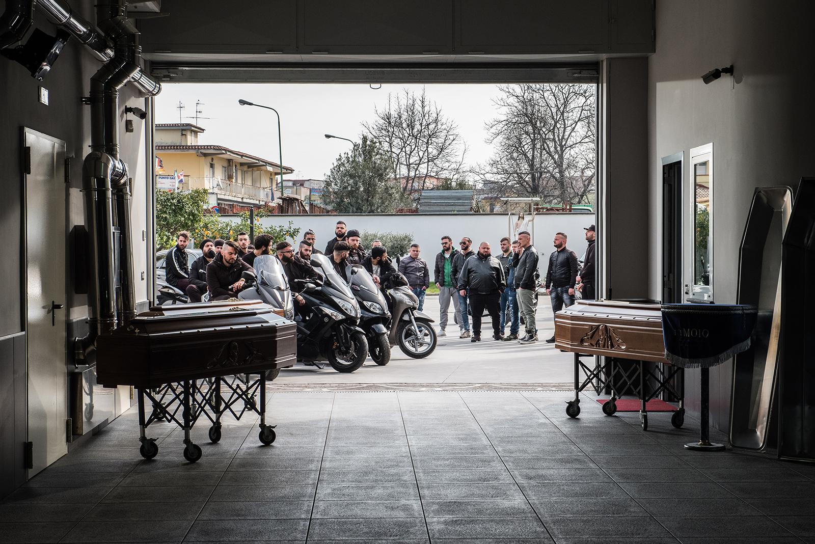 Gomorra - la serie, una scena della terza stagione