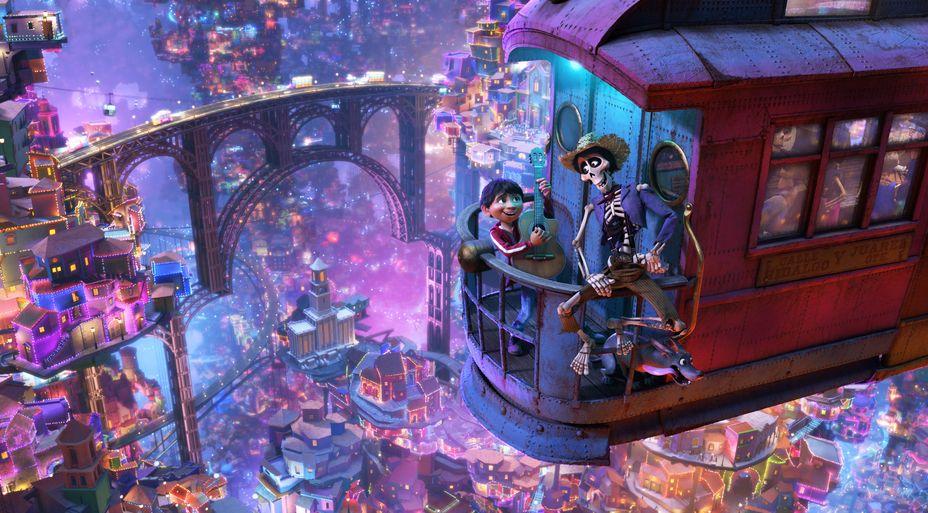 Coco: un'immagine del film d'animazione
