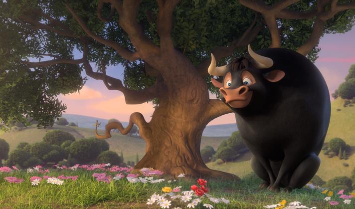 Ferdinand: un momento del film animato
