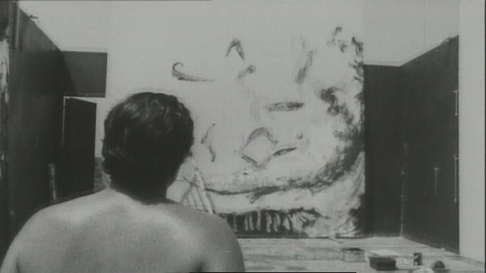 L'arte viva di Julian Schnabel: un'immagine tratta dal documentario