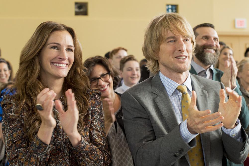 Wonder: Owen Wilson e Julia Roberts in una scena del film