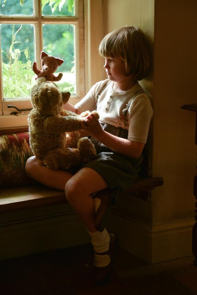 Goodbye Christopher Robin: un'immagine del giovane Will Tilston