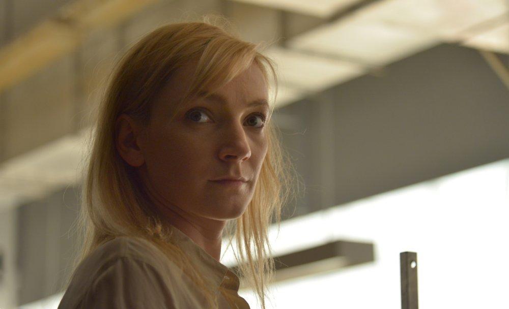 Corpo e anima: Alexandra Borbély in un momento del film