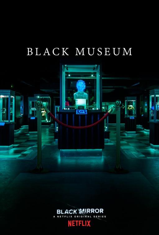 Black Mirror: il poster dell'episodio Black Museum