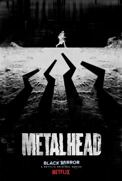 Black Mirror: il poster dell'episodio Metal Head