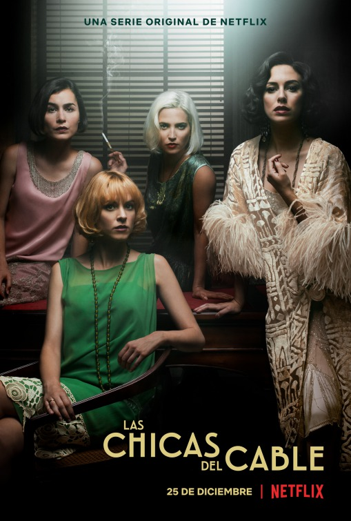 Las Chicas del Cable: il poster della seconda stagione