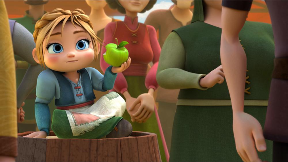 Leo da Vinci - Missione Monna Lisa: una scena del film d'animazione