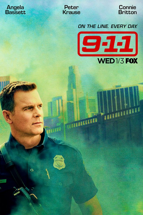 9-1-1: un character poster per Peter Krause