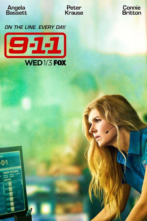 9-1-1: un character poster per Connie Britton