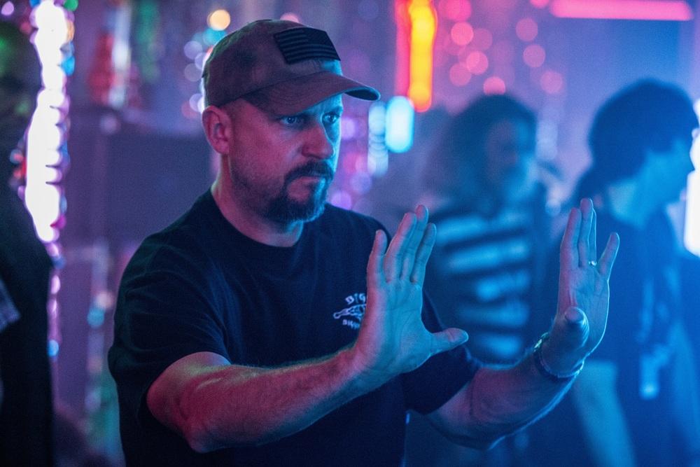 Bright: il regista David Ayer sul set del film