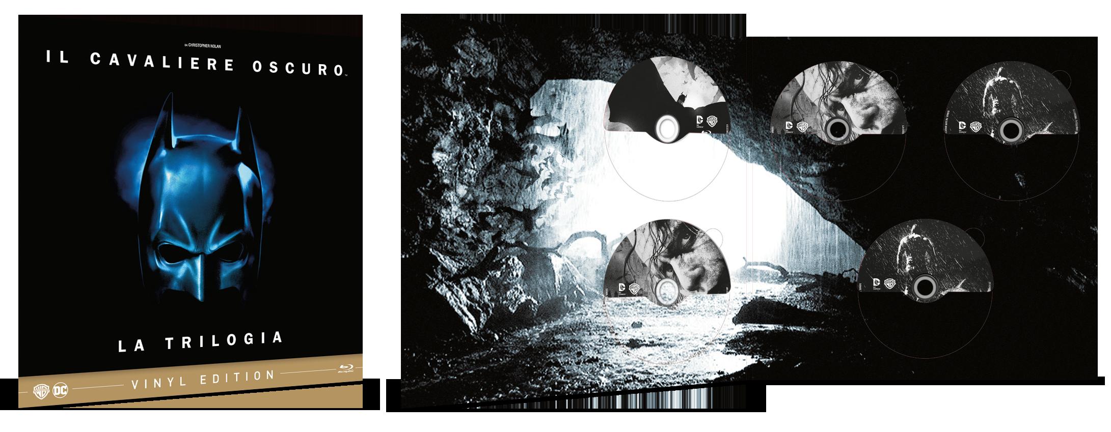 La Vinyl Edition de Il Cavaliere Oscuro