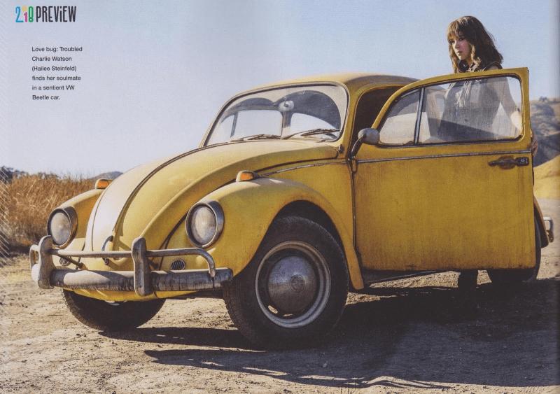 Bumblebee: Hailee Steinfeld insieme al suo maggiolino giallo
