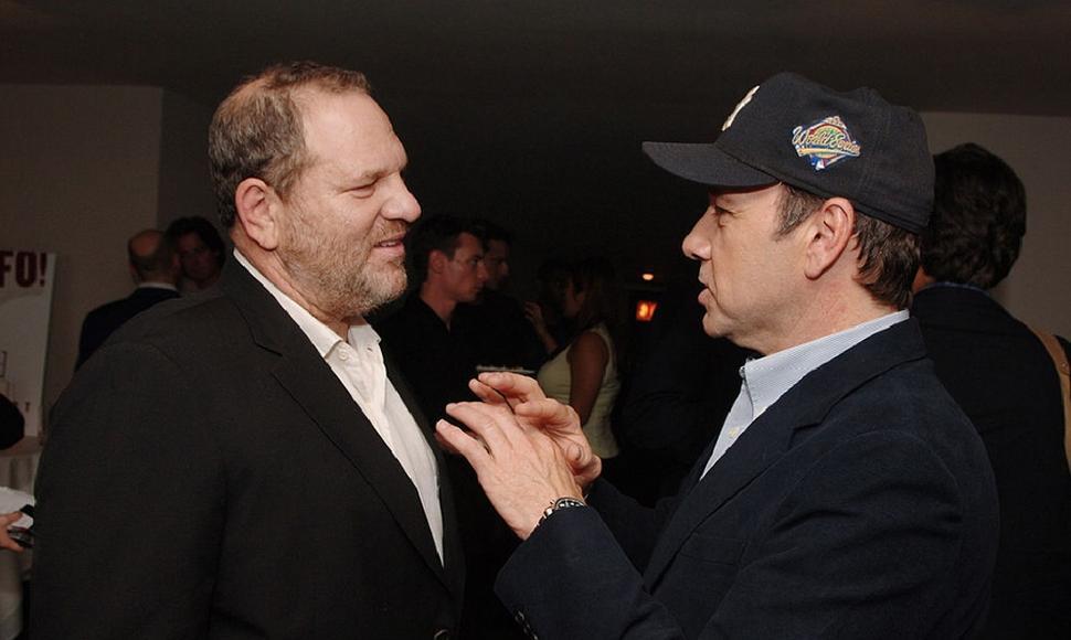 Kevin Spacey e Harvey Weinstein