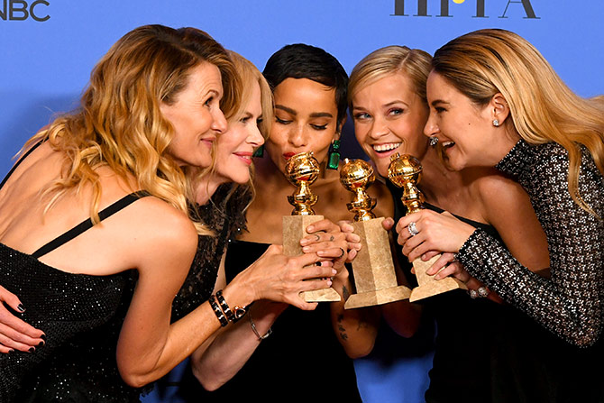 Big Little Lies: il cast festeggia i Golden Globes