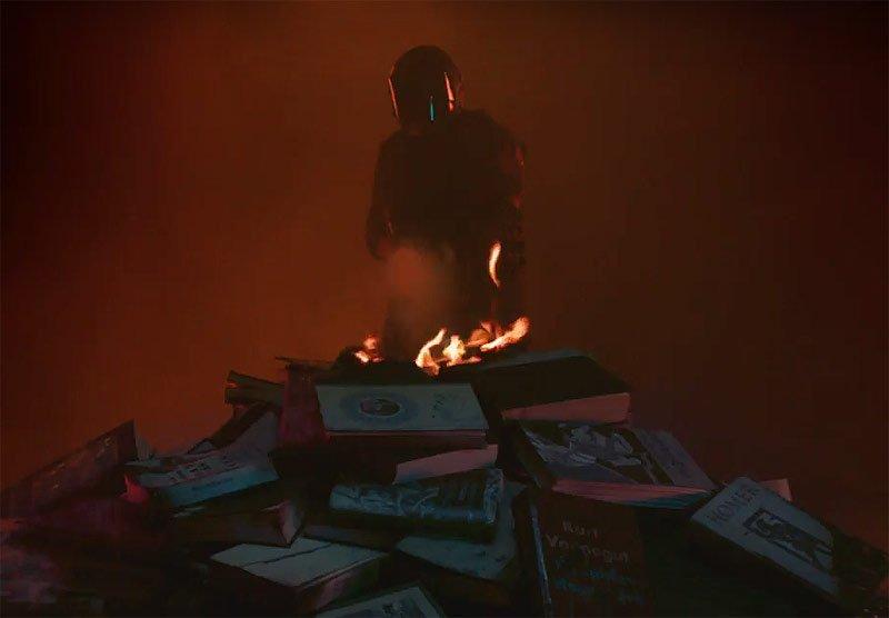 Fahrenheit 451: un'immagine del film
