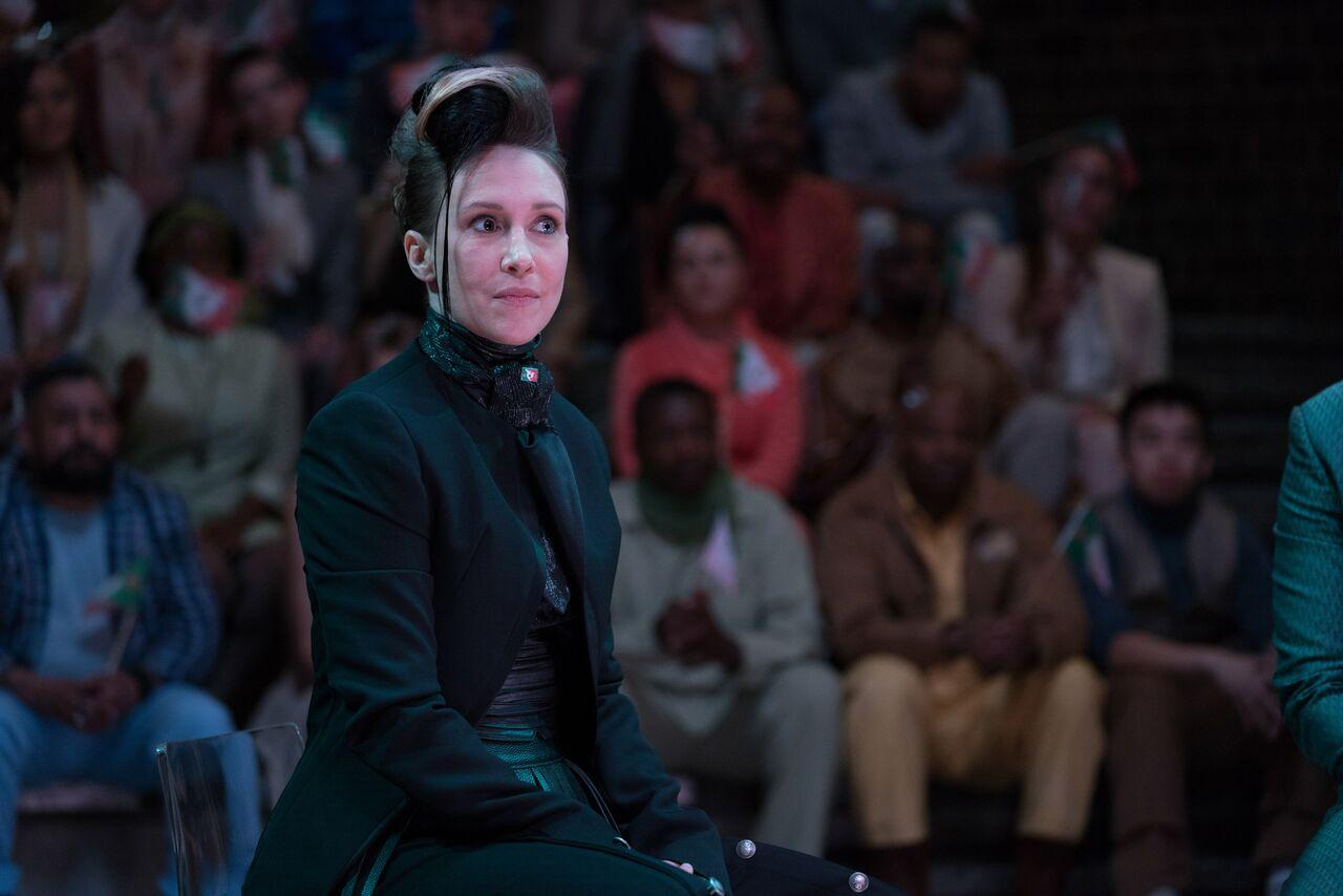 Philip K. Dick's Electric Dreams: Vera Farmiga in una scena dell'episodio Kill All Others