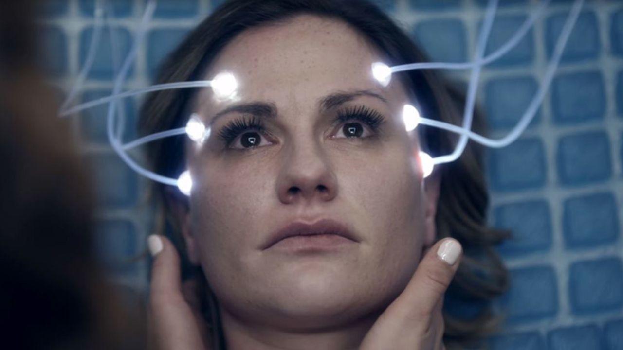 Philip K. Dick's Electric Dreams: Anna Paquin in una scena dell'episodio Real Life