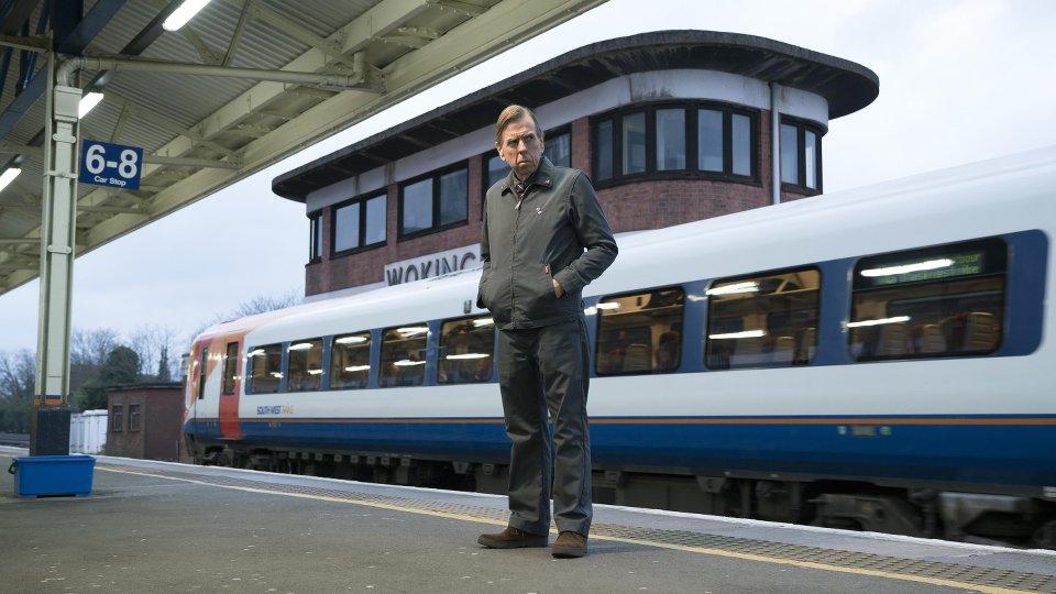 Philip K. Dick's Electric Dreams: Timothy Spall in una scena dell'episodio The Commuter