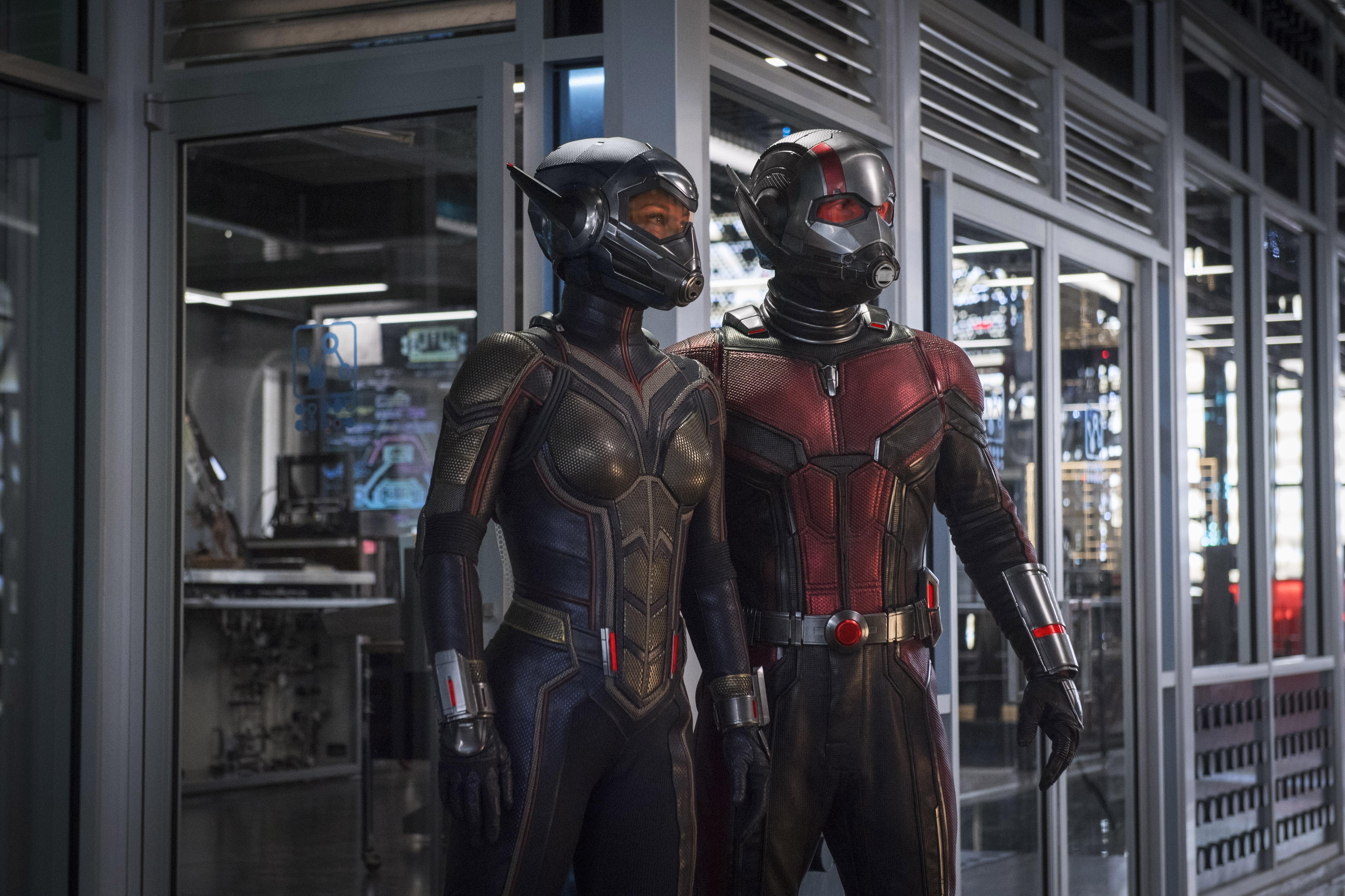 Ant-Man and the Wasp: una foto del sequel Marvel