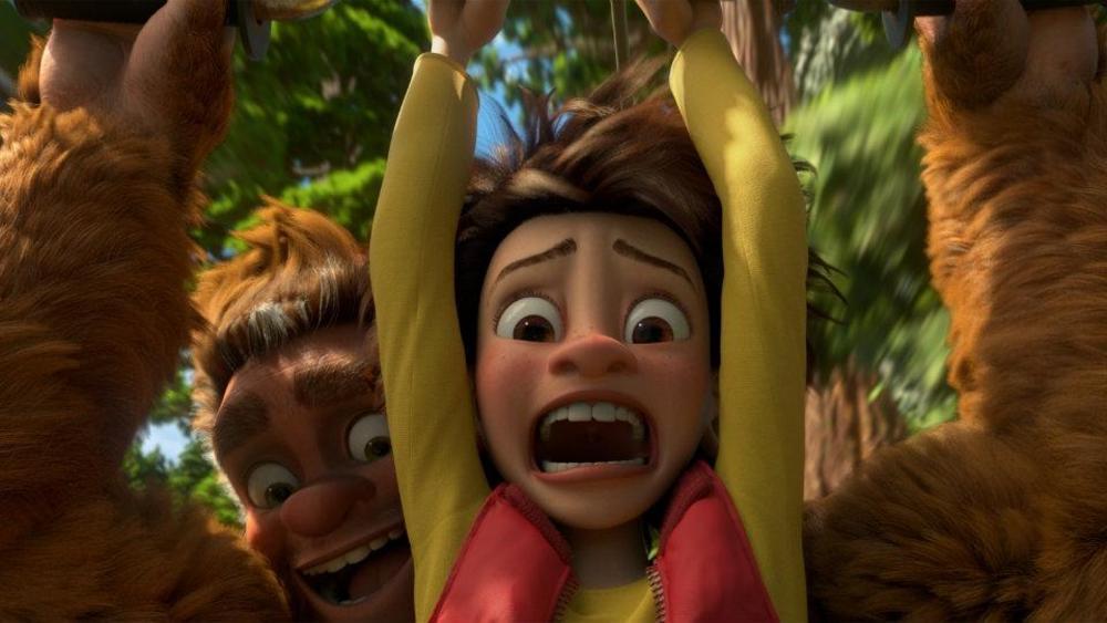 Bigfoot Junior: una scena del film animato