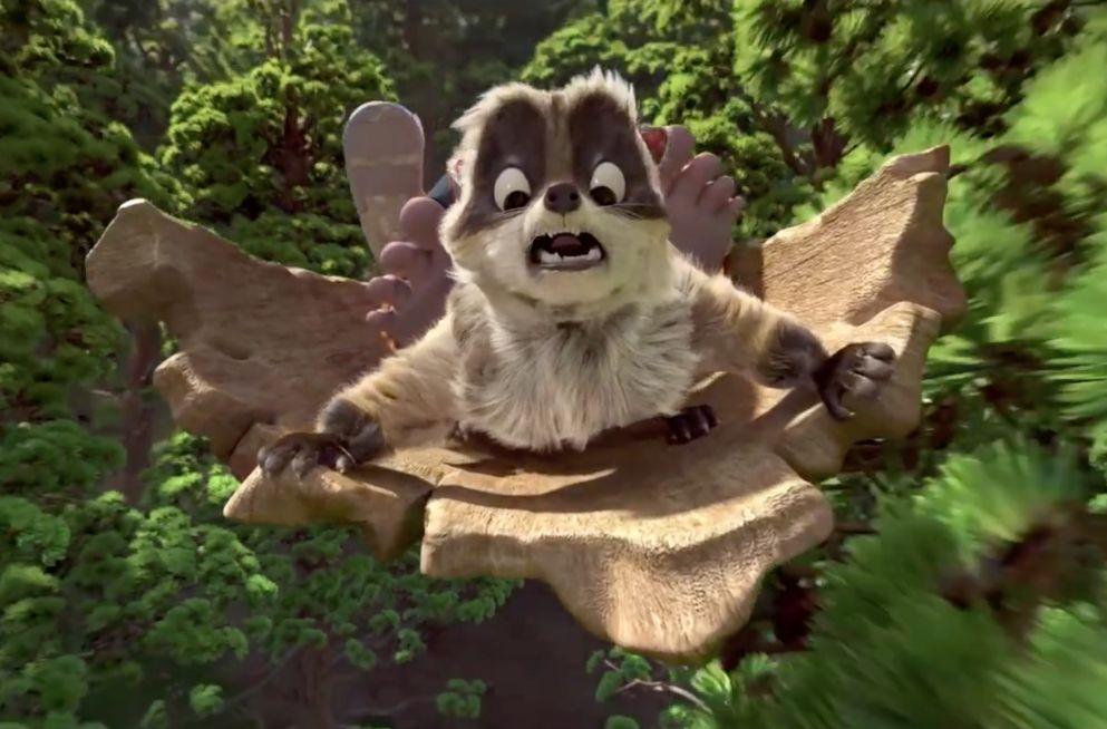 Bigfoot Junior: un'immagine del film d'animazione