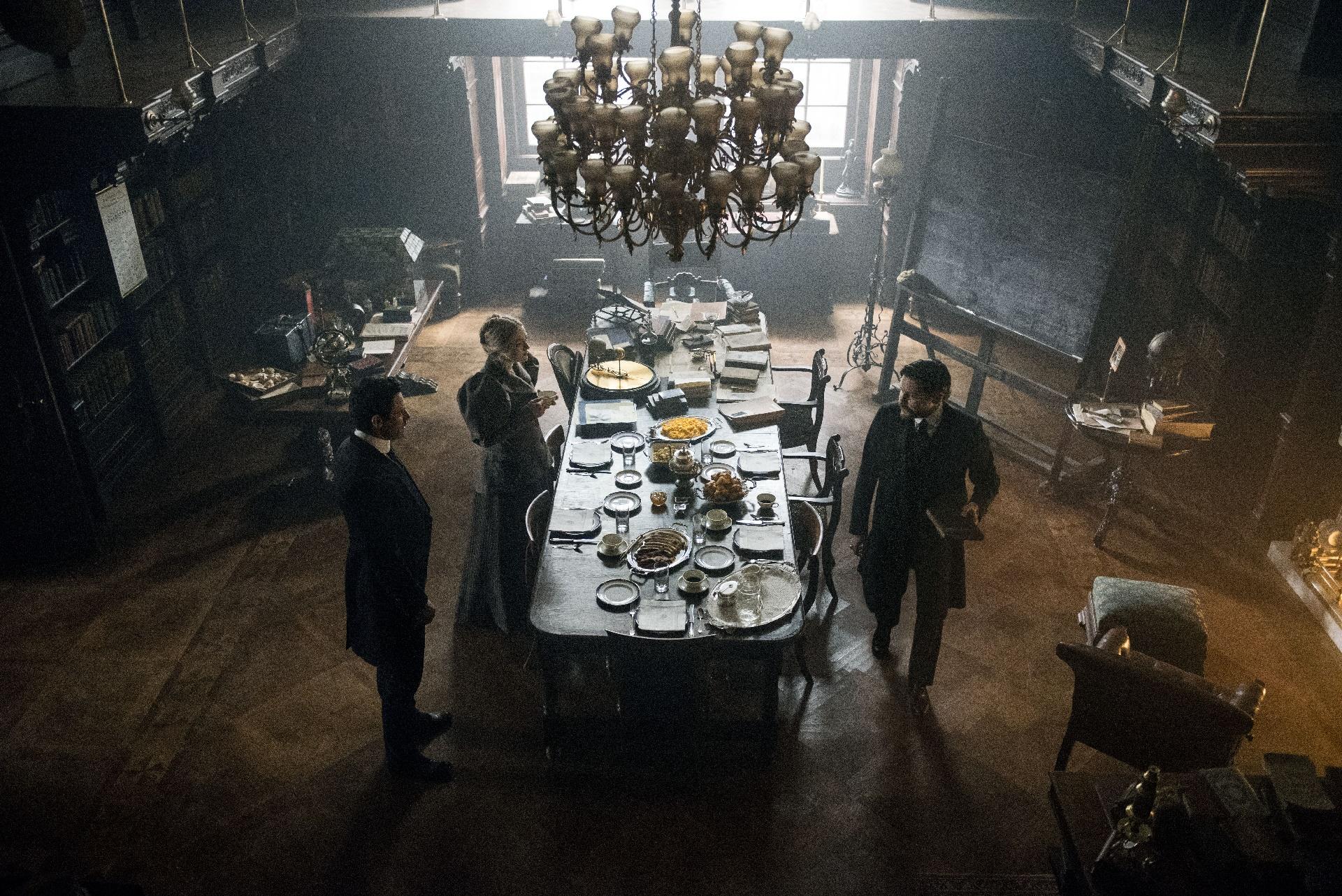 The Alienist: una foto dei protagonisti della serie